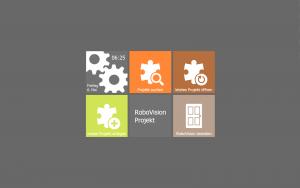 RoboVision.Designer Startbild
